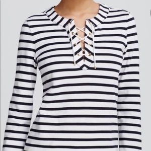 Kate spade nautical striped top, small